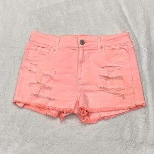 American Eagle Outfitters Ripped Shorts Frayed Hem